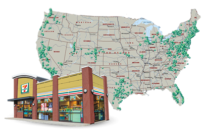 7-Elevens Across the United States