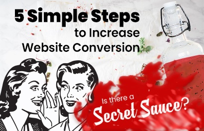 5 Simple Steps to Increase Website Conversion